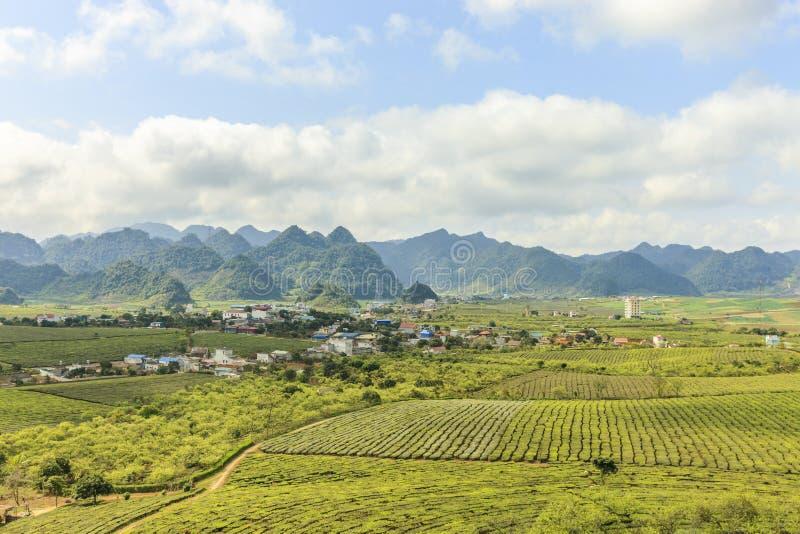 Montagne chez le Vietnam du Nord photographie stock