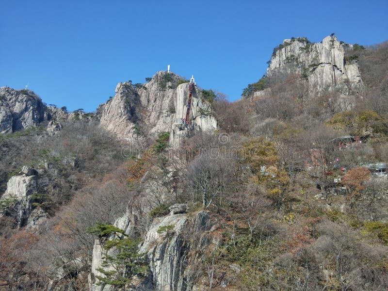 Montagne Corée images libres de droits