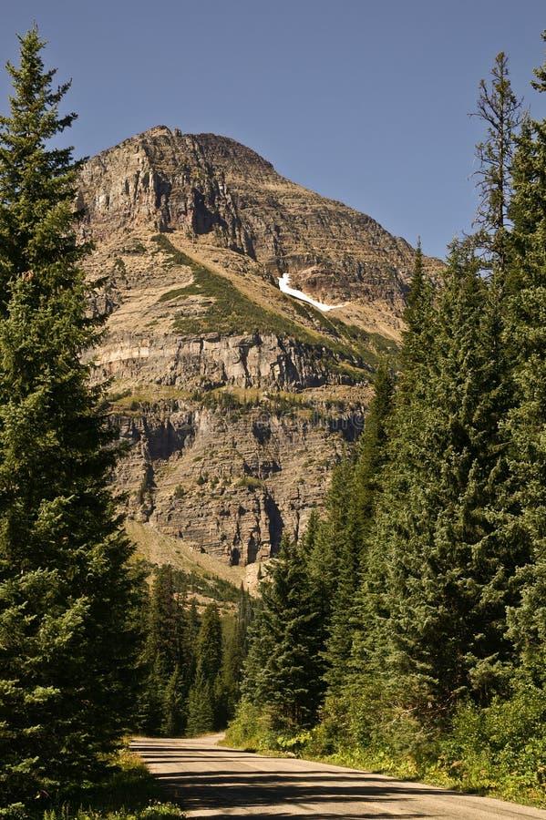 Montagne d'Aller-à-le-Sun images stock