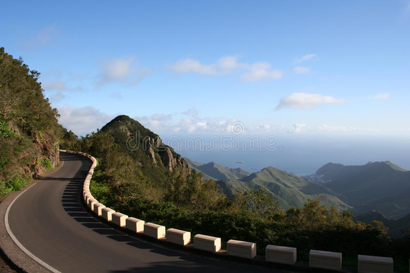 Montagne d'Anaga dans Tenerife photographie stock
