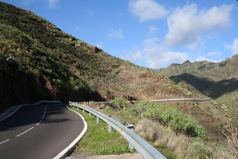 Montagne d'Anaga dans Tenerife image libre de droits