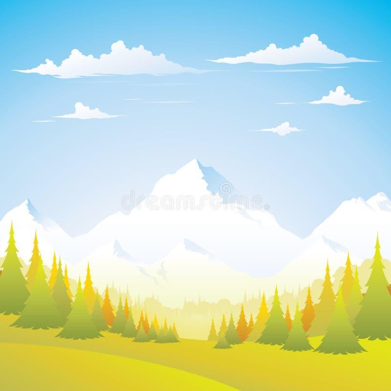 montagne d'automne