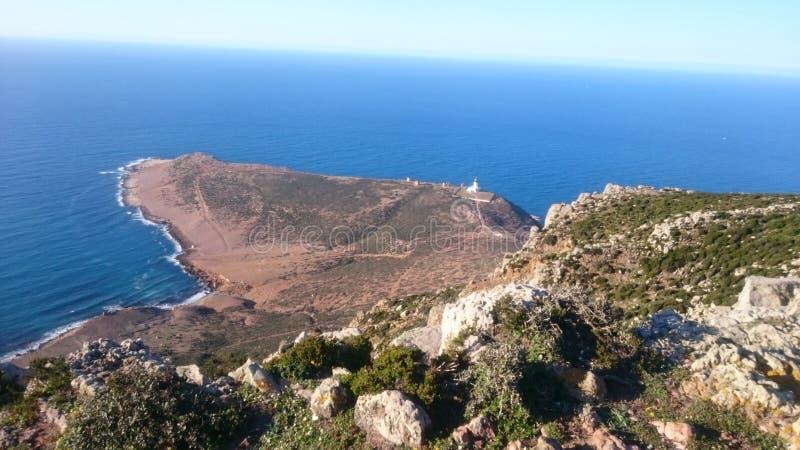 Montagne d'EL Haouaria image libre de droits