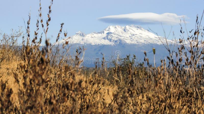 Montagne d'Iztaccihuatl ? Puebla photo stock
