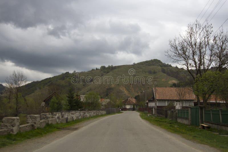 Montagne da Sacuieu, Romania immagini stock libere da diritti