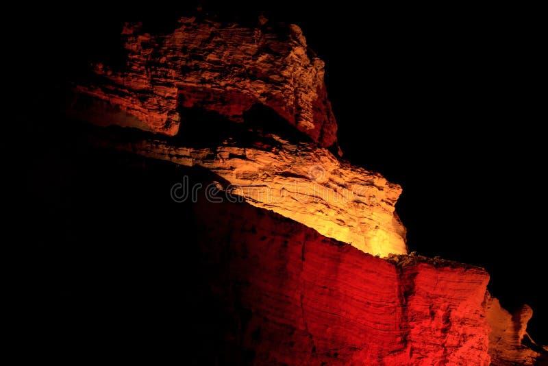 Montagne dans le désert de Judean près de la mer morte photo stock