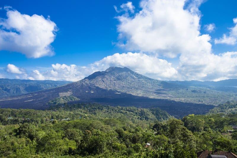 Montagne de Batur image libre de droits