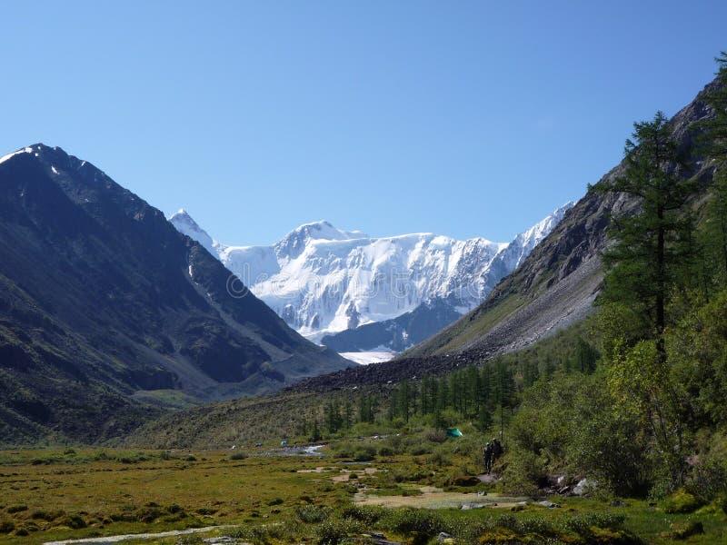 Montagne de Belukha, Altai photographie stock libre de droits