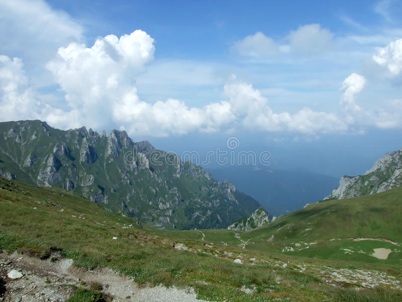 Montagne de Bucegi images stock