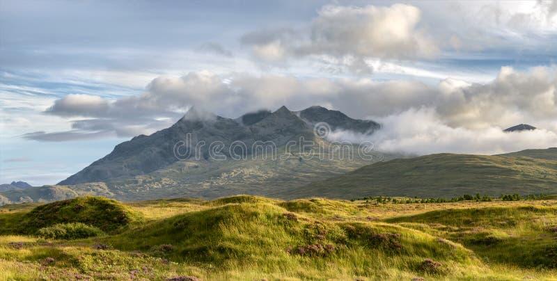 Montagne de Cullins photos stock