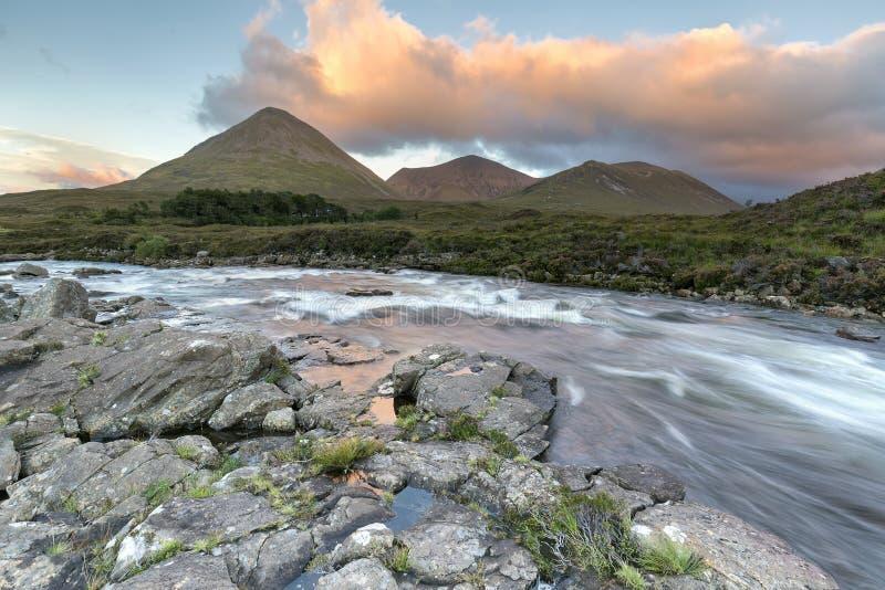 Montagne de Cullins images stock