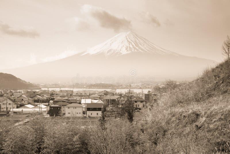 Montagne de Fuji au Japon image libre de droits