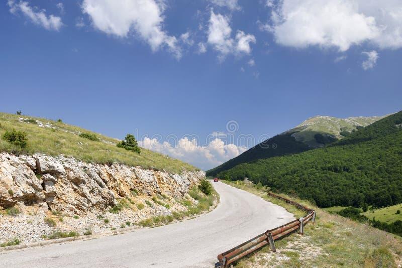 Montagne de Galicica photos stock