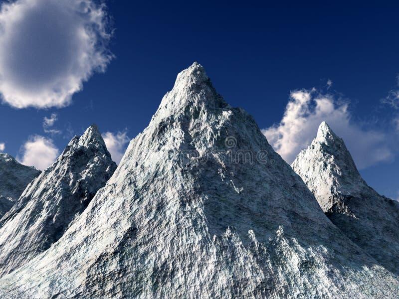 Montagne de glace images libres de droits