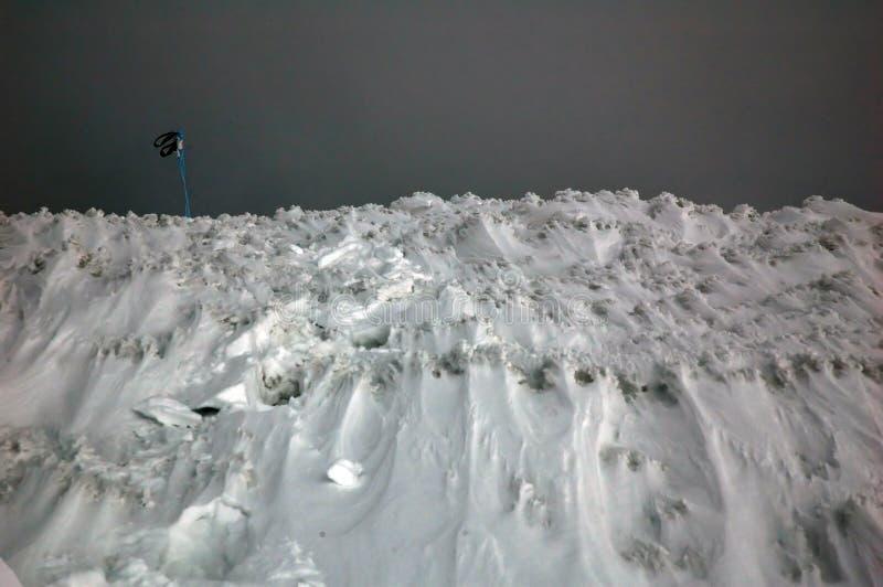 Montagne de glace photographie stock