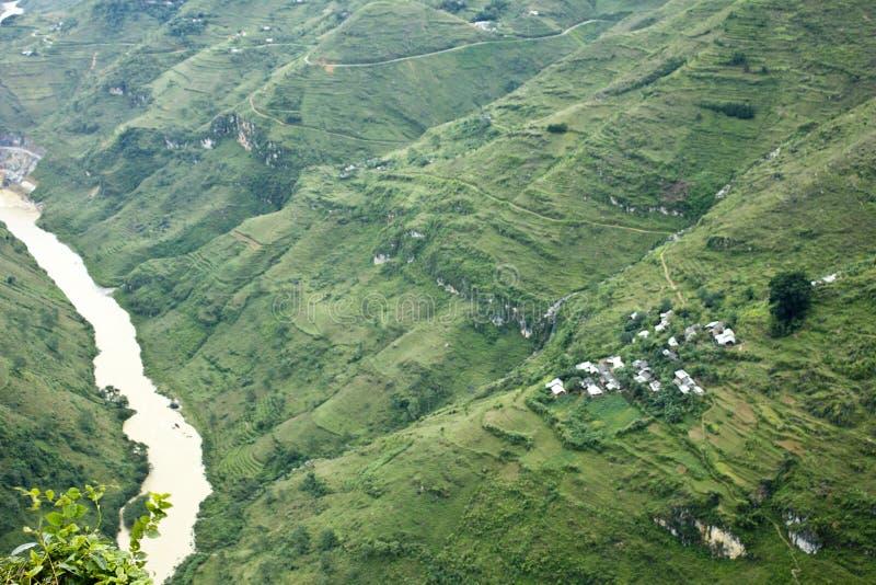 Montagne de Ha Giang - de Viet Nam photo libre de droits