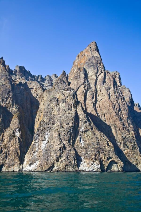 Montagne de Kara Dag images libres de droits