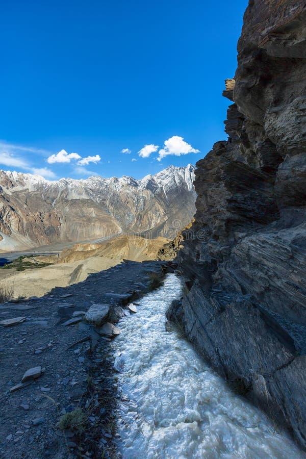 Montagne de Karakoram pakisatan photos libres de droits