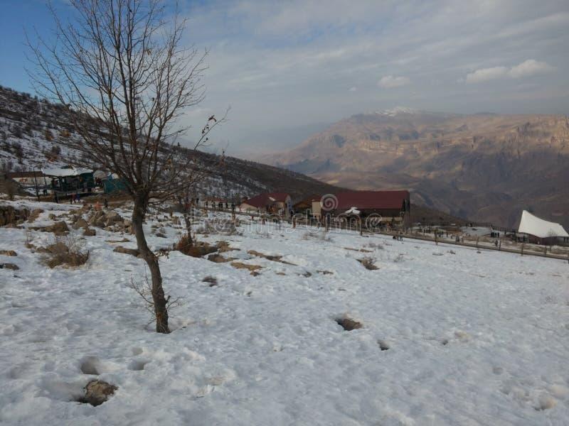 Montagne de Korek images libres de droits
