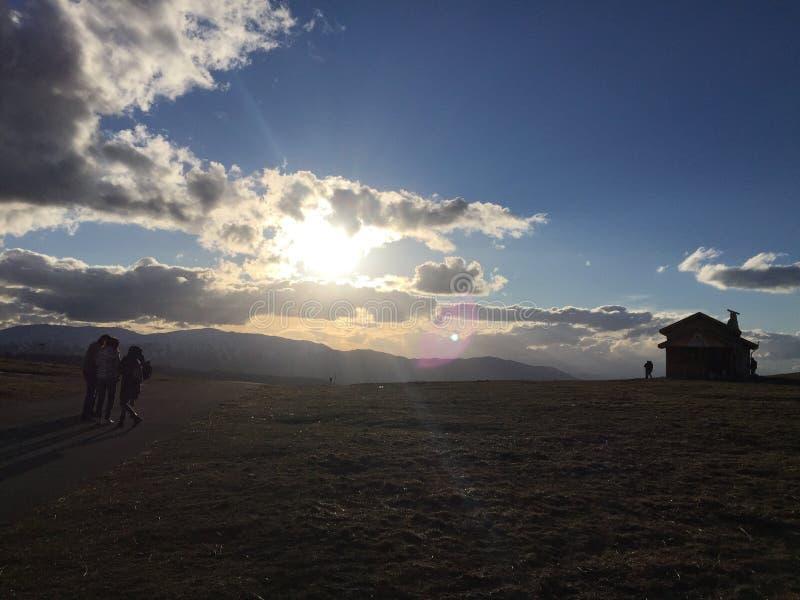 Montagne de l'Abruzzo photo libre de droits