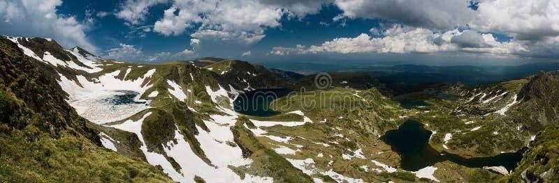 montagne de lacs photographie stock libre de droits