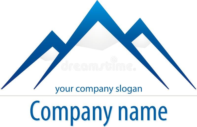 montagne de logo illustration libre de droits