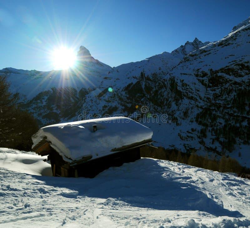 Montagne de Matterhorn photographie stock