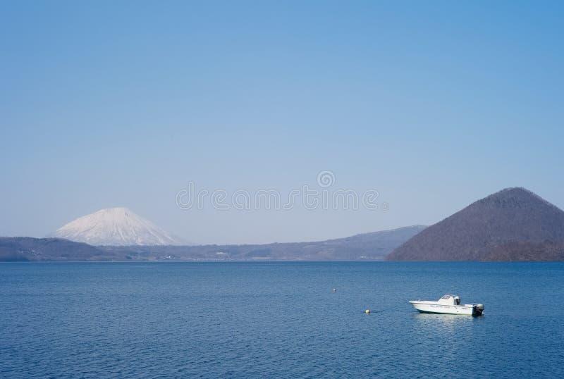 montagne de Mouton-sabot de Toyako photo libre de droits