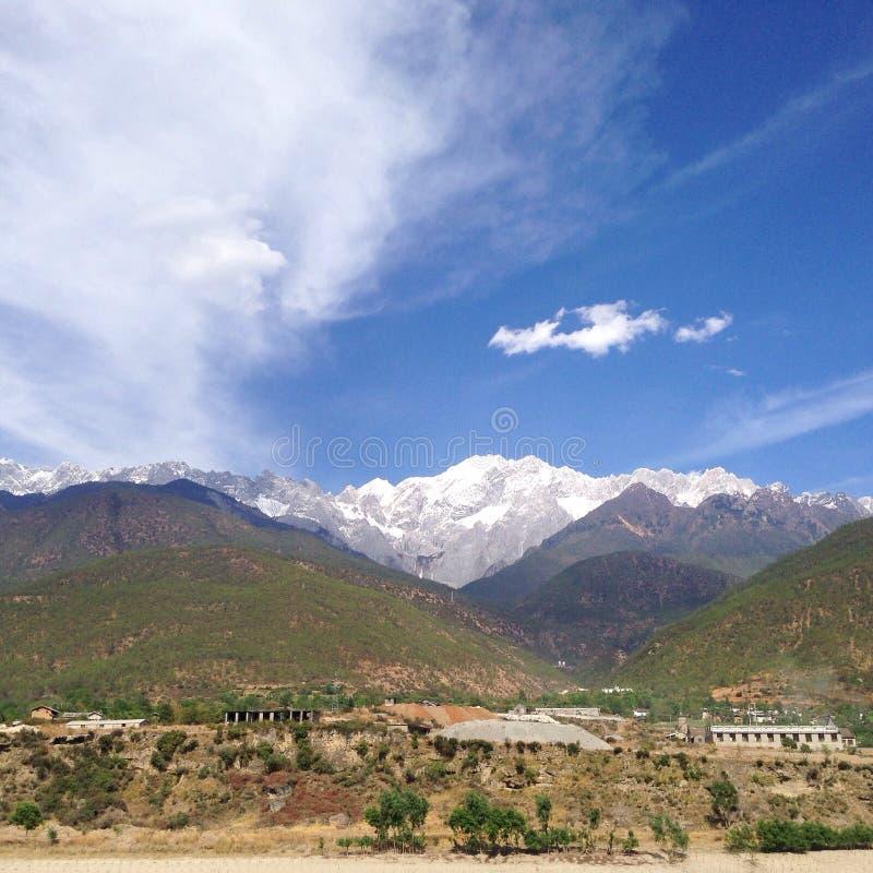 Montagne de neige de Haba ! photographie stock libre de droits