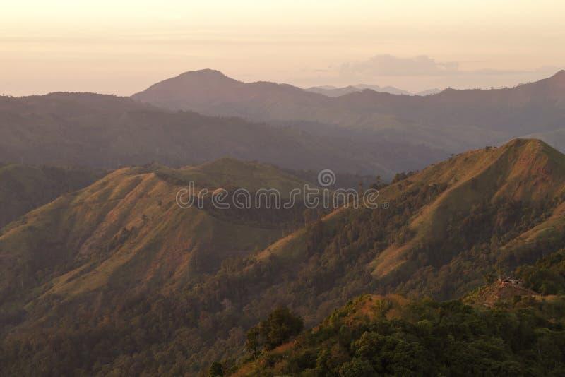 Montagne de Pha Phum de lanière image stock