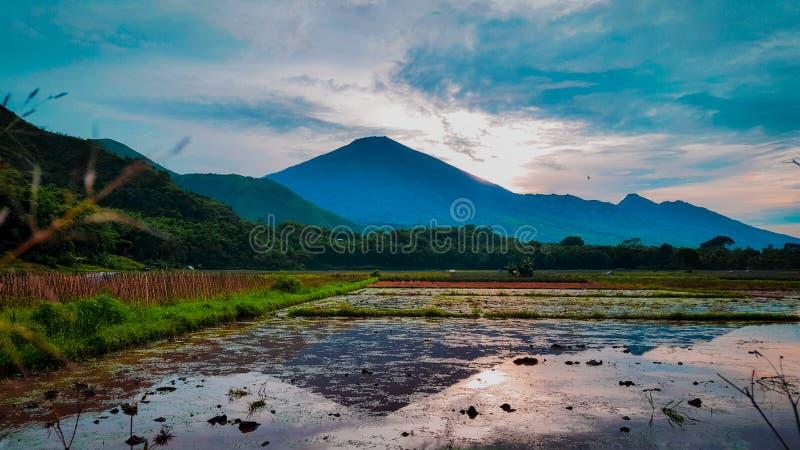 Montagne de Rinjani image libre de droits