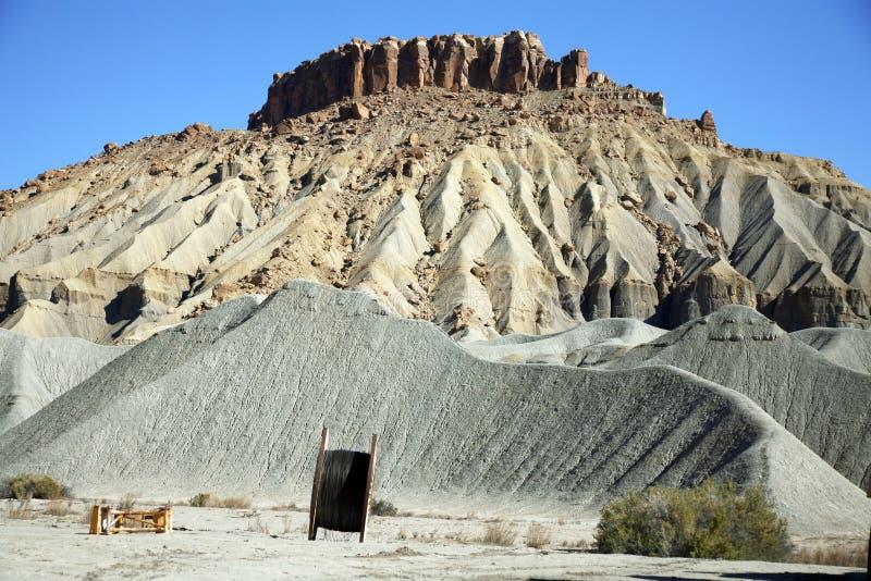 Montagne de roche et de sable, Utah, Etats-Unis images libres de droits