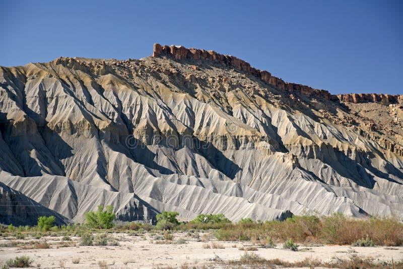 Montagne de roche et de sable, Utah, Etats-Unis photo stock