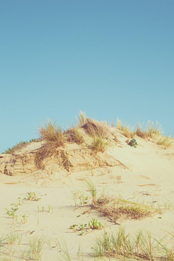 Montagne de sable image stock