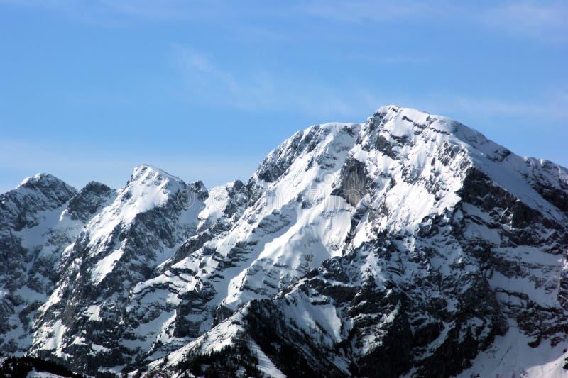Montagne de Salzbourg images stock