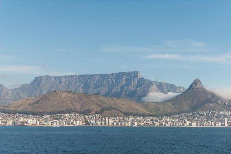 Montagne de Tableau, Cape Town, Afrique du Sud, Afrique image stock