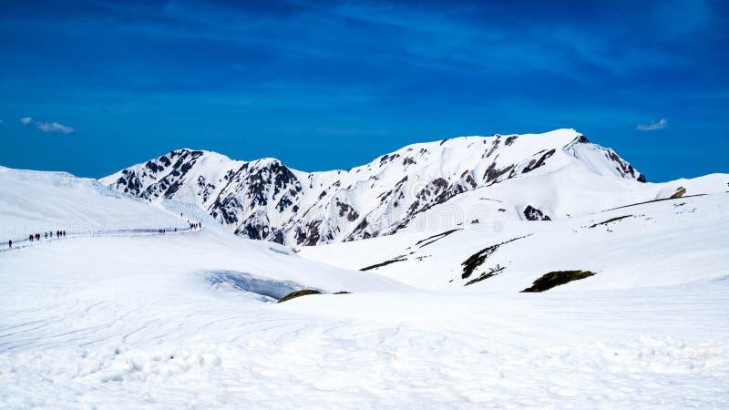 Montagne de Tateyama photo libre de droits