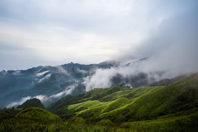 Montagne de Wugong photographie stock libre de droits