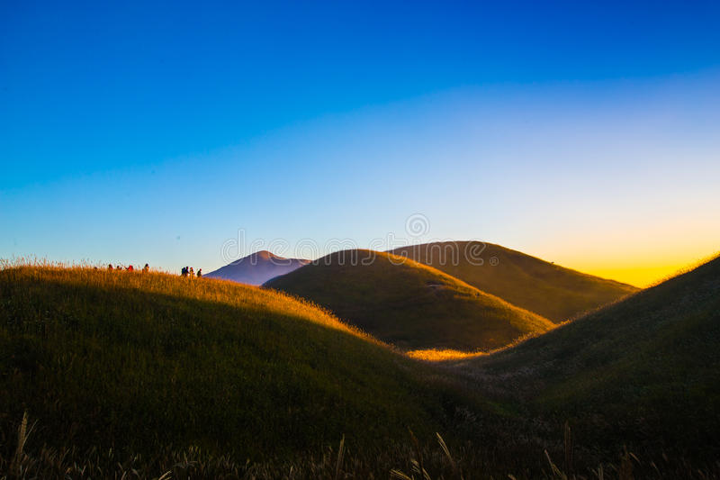 Montagne de Wugong image stock
