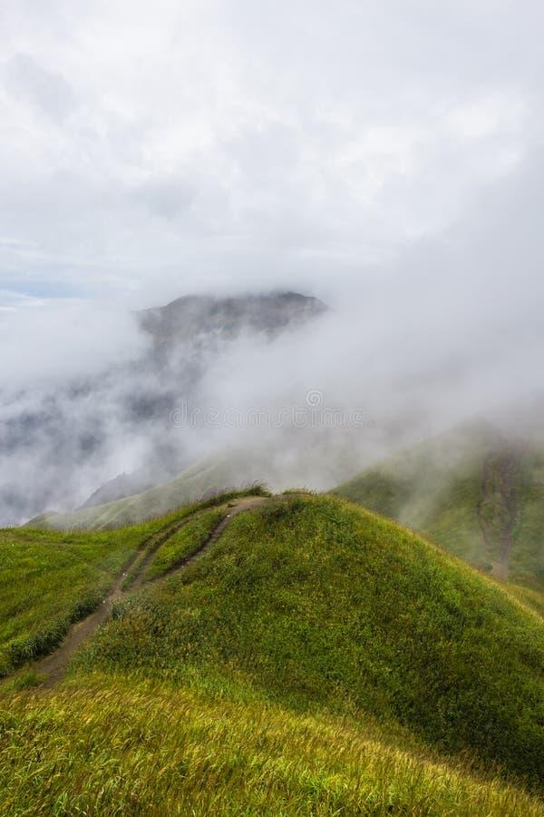 Montagne de Wugong images libres de droits
