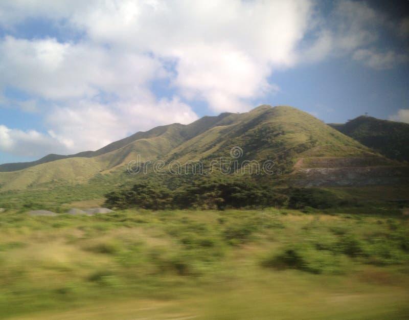 Montagne de Yaracuy photo libre de droits
