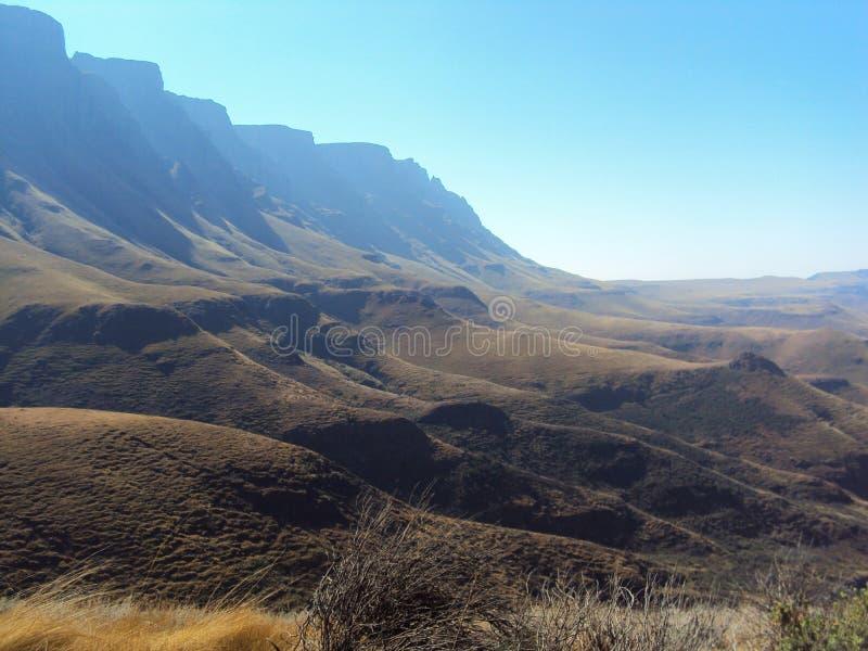 Montagne del drago fotografie stock libere da diritti
