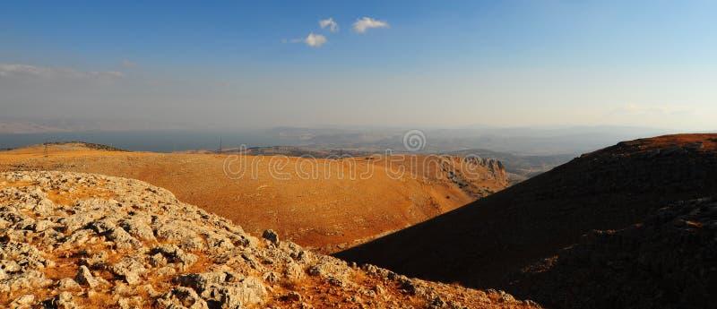 Montagne del Galilee fotografie stock