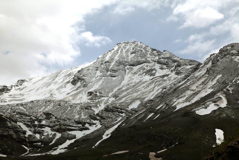 Montagne del passaggio di Rohtang immagine stock