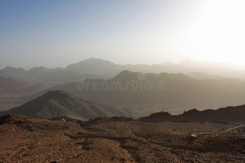 Montagne del Sinai fotografie stock libere da diritti