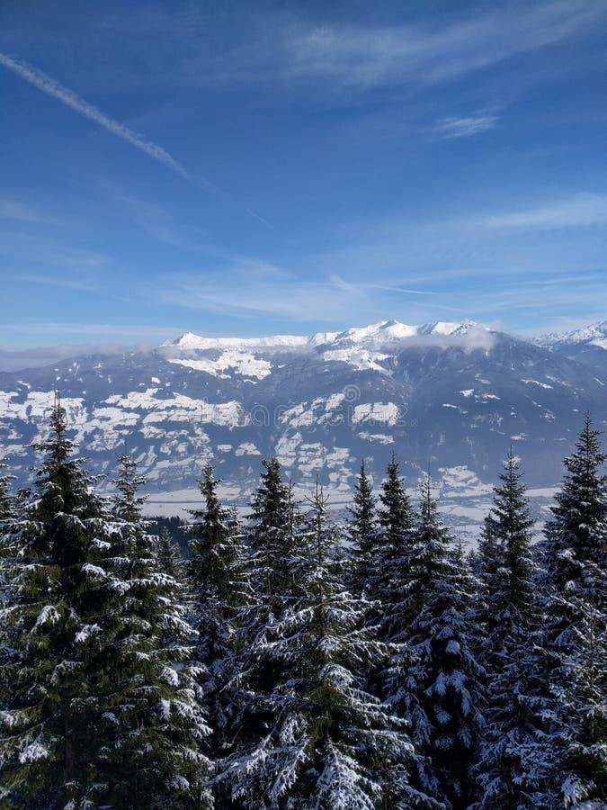 Montagne dell'Austria immagini stock libere da diritti
