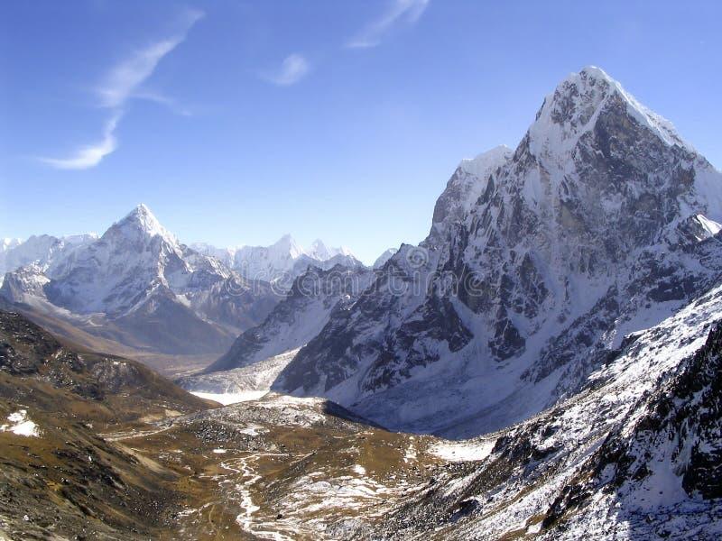Montagne dell'Himalaya immagine stock libera da diritti