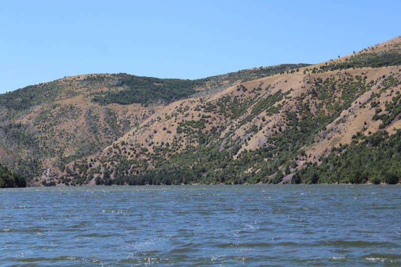 Montagne dell'Idaho fotografia stock