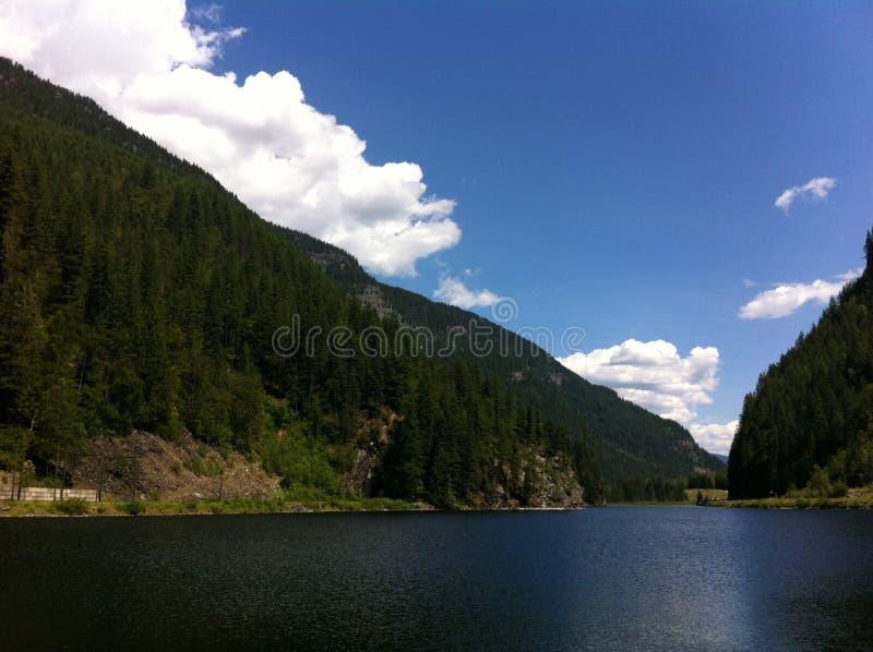 Montagne della Columbia Britannica fotografia stock