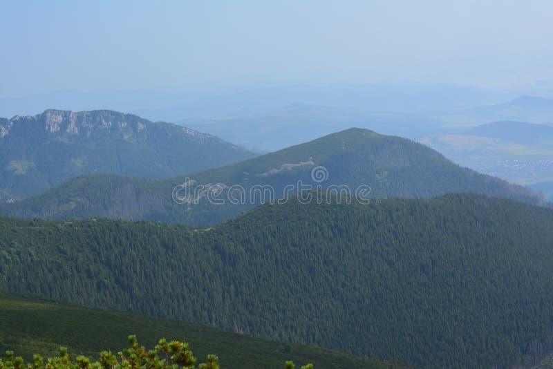 Montagne della Slovacchia fotografie stock